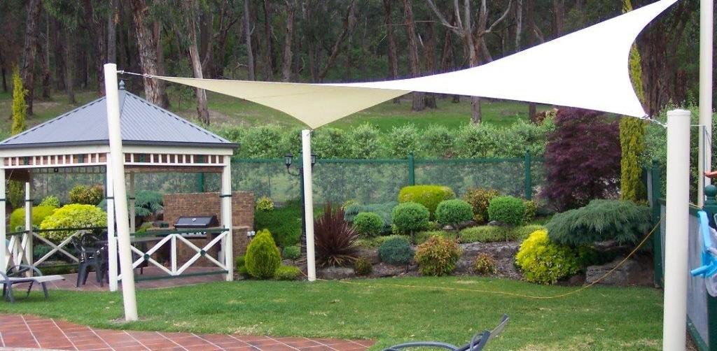 Back Garden Shade Sail