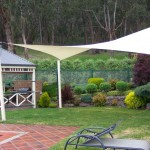 Back Garden Shade Sail