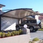 Driveway Canopy (Cantilever)