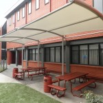 Cantilever Shade at St Bedes Mentone