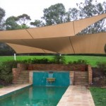 2 Overlapping Shade Sails