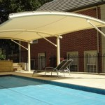 Cantilever over Swimming Pool