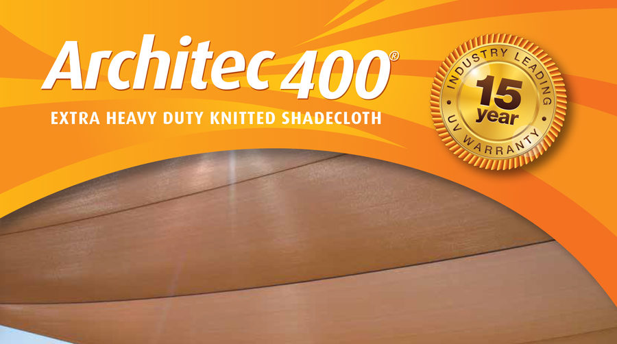 Architec 400 shade cloth