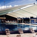 Olympic Pool Shade
