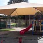 Pyramid Shade for Playground