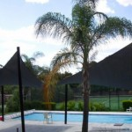 Swimming Pool Dual Shade Sails