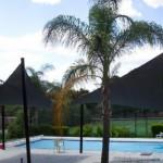 Swimming Pool Dual Shade Sails